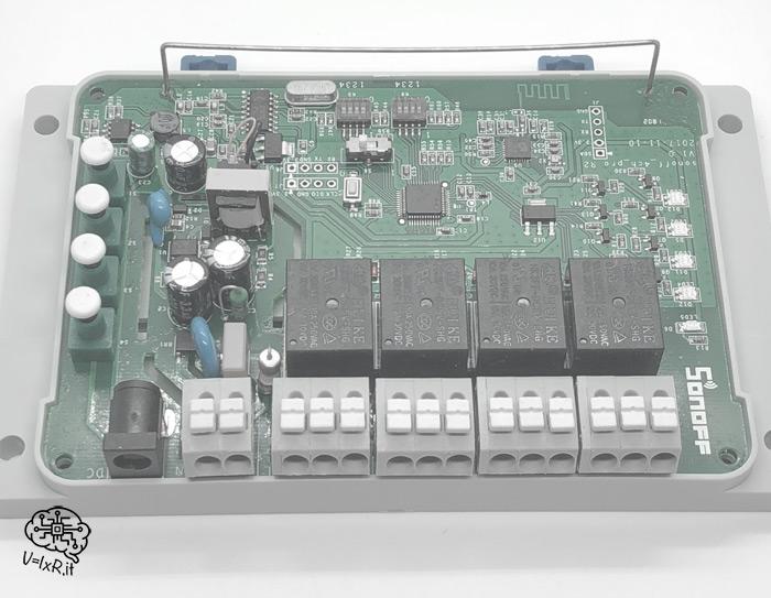 Sonoff-4ch-pro-elettronica